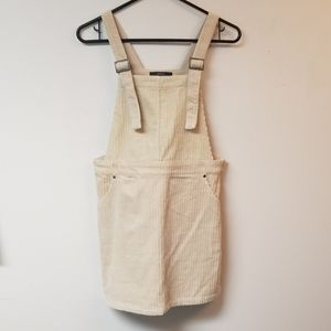 Forever 21 Corduroy Dress Buckle Strap